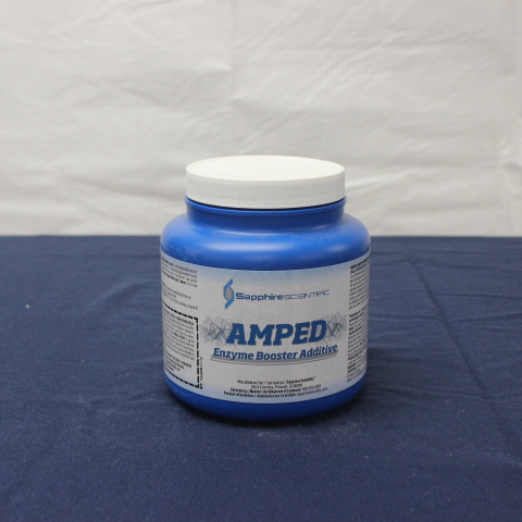 Amped Enzyme Booster Additive 2lb Jar Modernistic Store