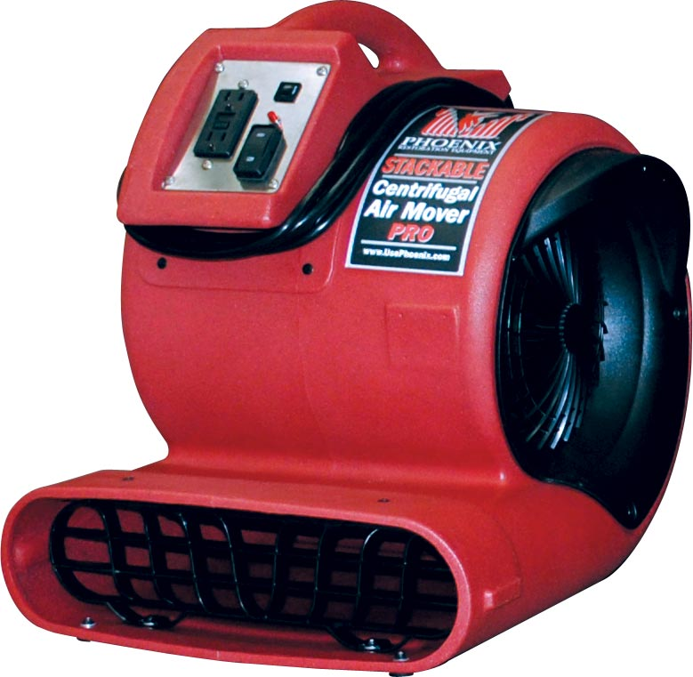 Phoenix Stackable Centrifugal Air Mover Modernistic